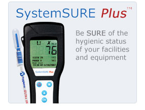 SystemSURE Plus™. Be SURE of the hygenic status of your facilities and equipment.